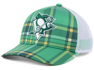 Pittsburgh Penguins adidas 2018 NHL St. Patrick's Day Adjustable Cap