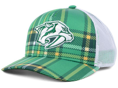 Nashville Predators adidas 2018 NHL St. Patrick's Day Adjustable Cap