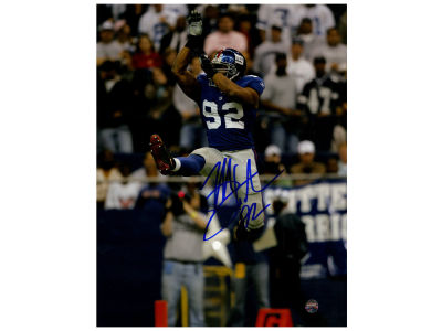 New York Giants Michael Strahan Steiner 8x10 Print Photo