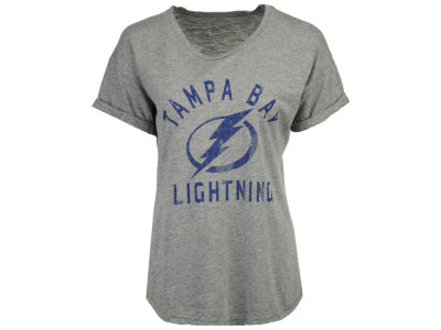 Tampa Bay Lightning NHL Women's Rolled Sleeve Rounded T-Shirt