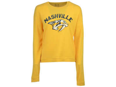 Nashville Predators NHL Women's Lightweight Haachi Crew Sweatshirt