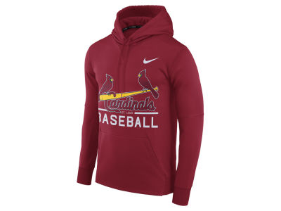 St. Louis Cardinals Nike MLB Men's Therma Hoodie