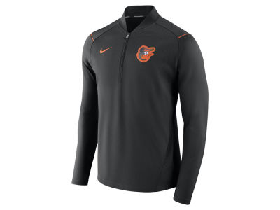 Baltimore Orioles Nike MLB Men's Dry Elite Half Zip Pullover