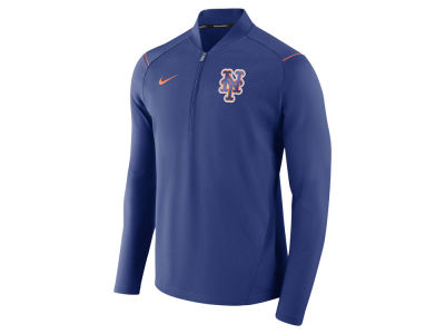 New York Mets MLB Men's Dry Elite Half Zip Pullover