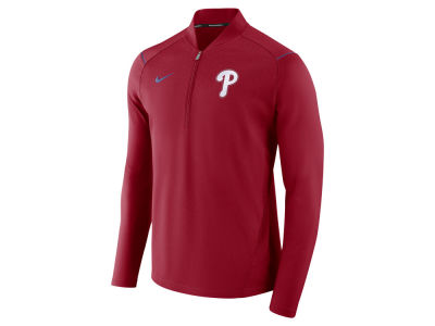 Philadelphia Phillies MLB Men's Dry Elite Half Zip Pullover