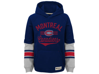 Montreal Canadiens Outerstuff NHL Kids Heroic Hoodie
