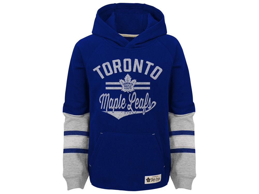 Toronto Maple Leafs Outerstuff NHL Kids Heroic Hoodie  74704c175