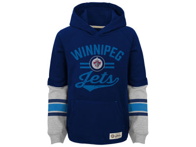Winnipeg Jets Outerstuff NHL Kids Heroic Hoodie