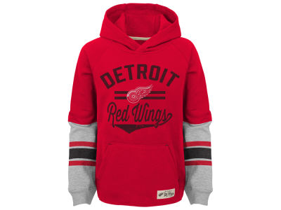 Detroit Red Wings NHL Kids Heroic Hoodie