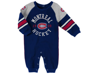 Montreal Canadiens Outerstuff NHL Infant Old Soul Romper