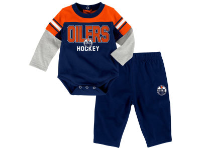 Edmonton Oilers NHL Infant Post Game Set