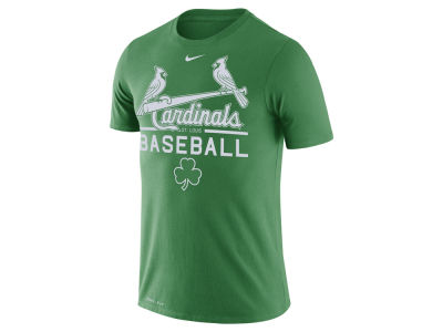 St. Louis Cardinals Nike MLB Men's Clover Dry Practice T-Shirt