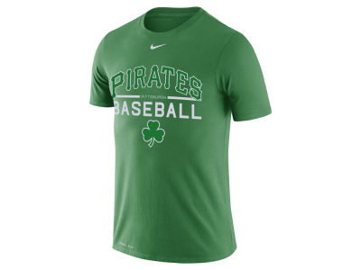 Pittsburgh Pirates Nike MLB Men's Clover Dry Practice T-Shirt