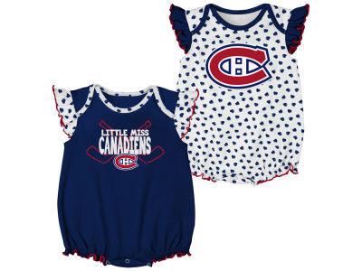 Montreal Canadiens NHL Infant Hockey Hearts Set