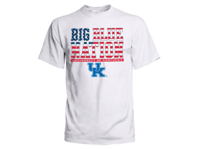 Kentucky Wildcats 2 for $28  J America NCAA Men's Flag Fill Double Stack 3X T-Shirt