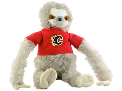 Calgary Flames Plush Sloth