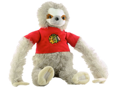 Chicago Blackhawks Plush Sloth