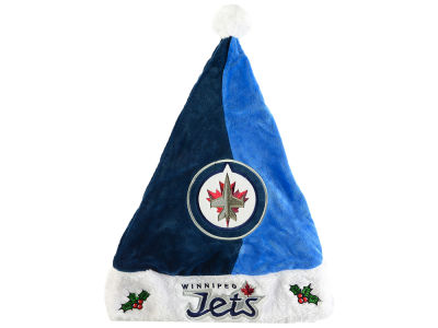 Winnipeg Jets Colorblock Santa Hat