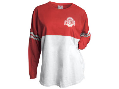 Ohio State Buckeyes J America NCAA Women's Sleeve Stripe Gameday Jersey 3X