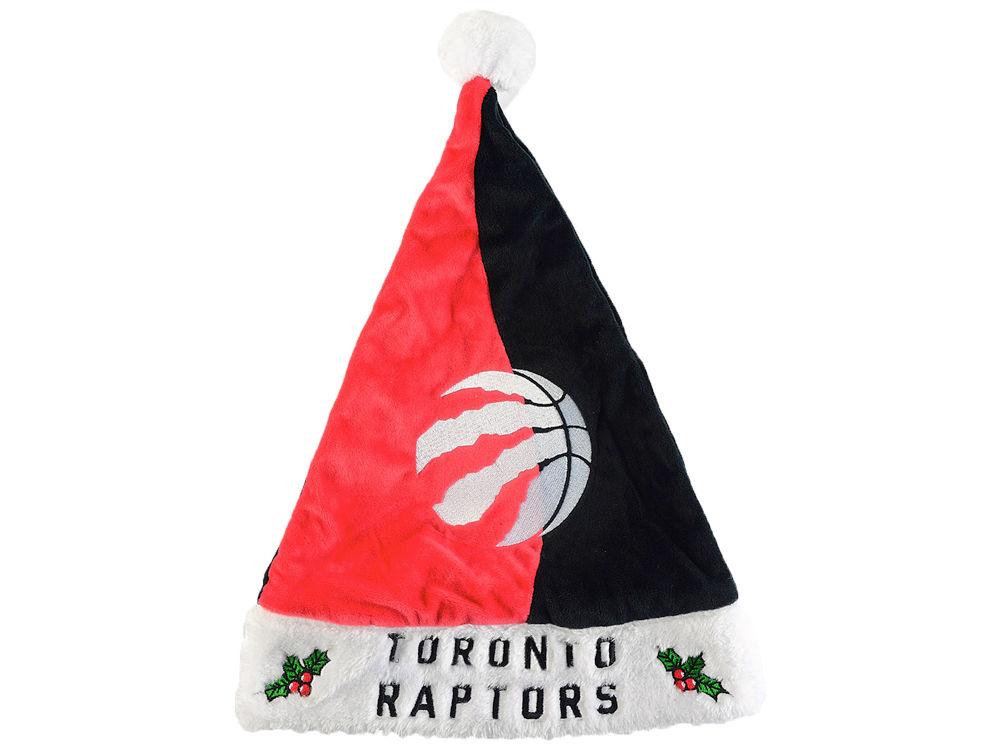 Toronto Raptors Colorblock Santa Hat  bfeace1db
