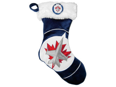 winnipeg jets colorblock stocking 17