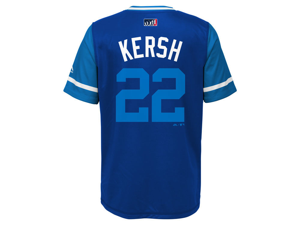 Los Angeles Dodgers Clayton Kershaw MLB Youth Players Weekend Jersey Top  a8e42ef6d93