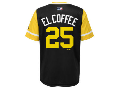 Pittsburgh Pirates Gregory Polanco Majestic MLB Youth Players Weekend Jersey Top
