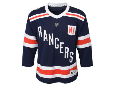 New York Rangers NHL Branded 2018 NHL Youth Winter Classic Jersey