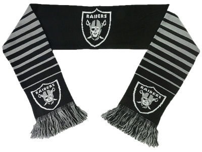 Oakland Raiders Big Logo Scarf