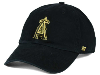 Los Angeles Angels '47 MLB Metallic CLEAN UP Cap