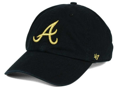 Atlanta Braves '47 MLB Metallic CLEAN UP Cap
