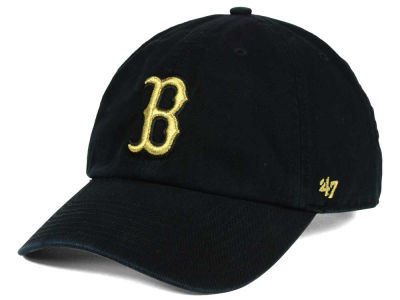 Boston Red Sox '47 MLB Metallic CLEAN UP Cap