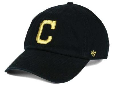 Cleveland Indians '47 MLB Metallic CLEAN UP Cap
