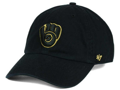 Milwaukee Brewers '47 MLB Metallic CLEAN UP Cap