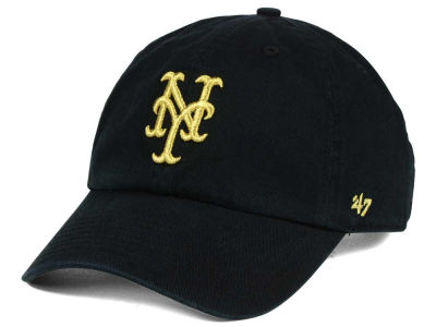 New York Mets '47 MLB Metallic CLEAN UP Cap