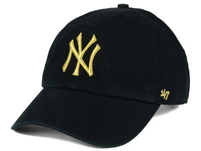 New York Yankees '47 MLB Metallic CLEAN UP Cap