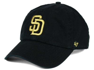San Diego Padres '47 MLB Metallic CLEAN UP Cap