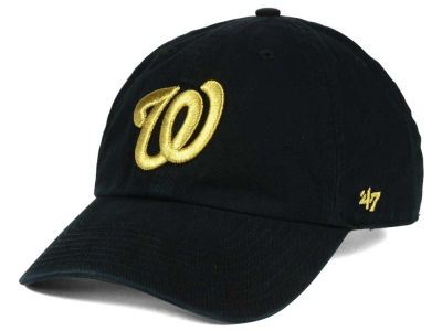 Washington Nationals '47 MLB Metallic CLEAN UP Cap