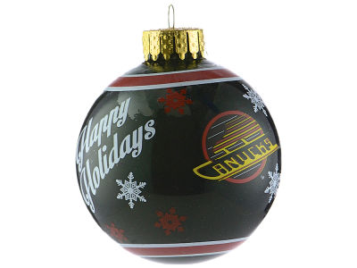 Vancouver Canucks 2017 Glass Ball Ornament