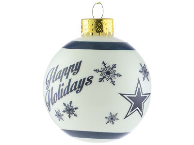 Dallas Cowboys 2017 Glass Ball Ornament