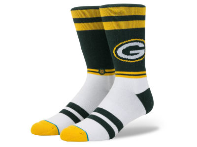 Green Bay Packers Stance NFL Sideline Crew Socks