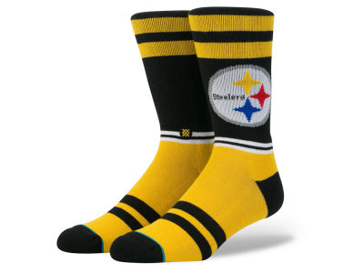 Pittsburgh Steelers Stance NFL Sideline Crew Socks
