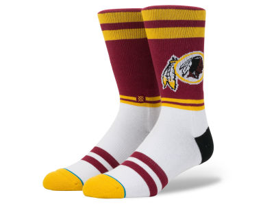 Washington Redskins Stance NFL Sideline Crew Socks