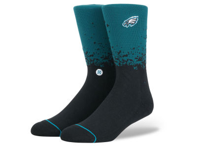 Philadelphia Eagles Stance NFL Fade Crew Socks