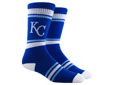 Kansas City Royals Parkway MLB Stripe Crew Socks
