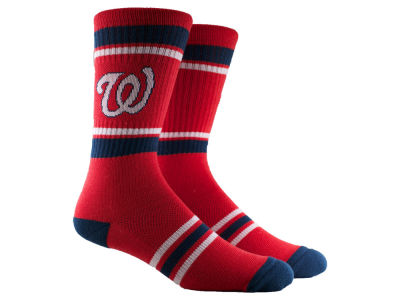 Washington Nationals Parkway MLB Parkway Stripe Crew Socks