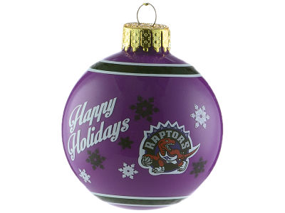 Toronto Raptors 2017 Glass Ball Ornament