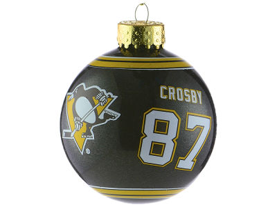 Pittsburgh Penguins Sidney Crosby 2017 Glass Ball Ornament