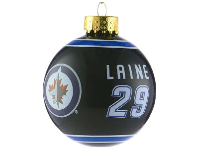 Winnipeg Jets Patrik Laine 2017 Glass Ball Ornament