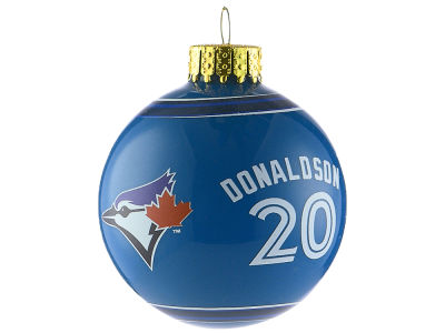 Toronto Blue Jays Josh Donaldson 2017 Glass Ball Ornament